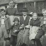 Famiglia Huber, circa 1943