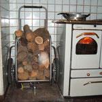 UL 2 riposto vicino alla cucina grazie alla ruotina pivottante anteriore