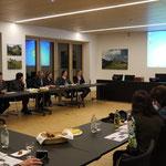Arbeitstreffen der Ostallgäuer Komitees im Landratsamt Ostallgäu