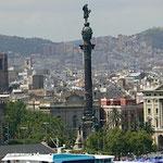 Conférence - Barcelone - Colonne de Christophe Colomb