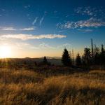 Sonnenaufgang am Waldschmidthaus