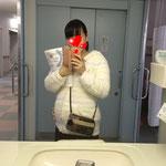 妊婦さんのお出かけ、病院での貴重品管理にお財布ショルダーが便利