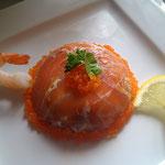 Dome saumon - asperges