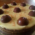 cheese cake aux deux chocolats