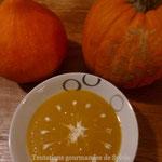 Potage citrouille gingembre