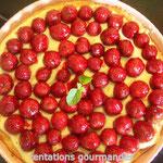 tartes aux fraises de langlade