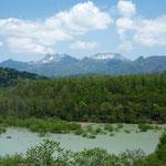 シューパロ湖と夕張山地【夕張市】