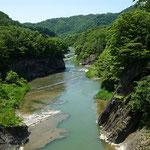 滝上公園竜仙峡 夕張川【夕張市】