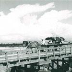 夏の大正橋