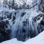 結氷アシリベツの滝【札幌市】