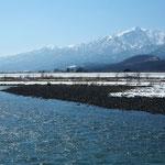 雪解けすすむ空知川【富良野市】