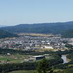 芦別市と空知川【芦別市】