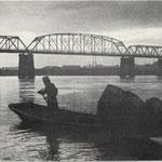 石狩大橋ヤツメ漁