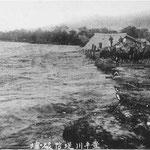 豊平川堤防破堤