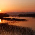 日の出 石狩川【月形町】