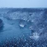 青い樹氷 夕張川【岩見沢市】