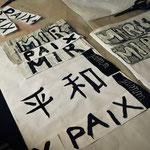 calligraphisme, atelier idéephémère, 64260 Bielle