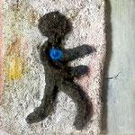 petit homme au coeur d'azur, 13,5 x 13,5 cm, 37 euros