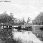 Draaibrug aan de Hoogstraat tot 1932/33