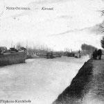 Draaibrug aan de Voorshoventerweg tot 1932/33 verbreding kanaal