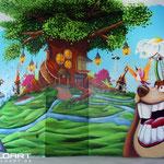 Kinderzimmer Wandmalerei Erfurt