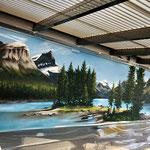 Graffiti Wandmalerei