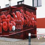 stromhaus graffiti brandenburg
