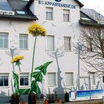 Fassadenmalerei Berlin Frontansicht