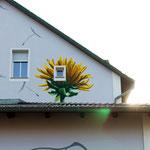 Fassadenmalerei Berlin Seiten Ansicht