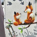 Kindergarten Wandmalerei