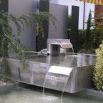 Zwei Becken-Anlage aus Aluminium