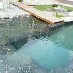 Schwimmteichbecken