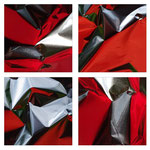 rot, silbern, Foto, Photo, Photographie, art, digital, Kunst, artist, Fotografie, Künstlerin, Kunstfoto, macro, Macrofotografie, minimalism