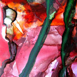 Aquarell, Macroaufnahme, watercolor, Kunst, art, contemporary, Photo, Foto, Fotograf,