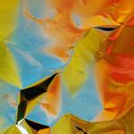 gelb, türkis, orange,  Foto, Photo, Photographie, art, digital, Kunst, artist, Fotografie, Künstlerin, Kunstfoto, macro, Macrofotografie, minimalism
