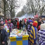 Kö Düsseldorf Karnevalssonntag