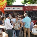 Frankreichfest 2015 und wir immer mit dabei
