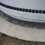 WEA Blankenburg Schädigungen am Anschluss FET - Fundament Detail 1