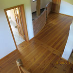 Wohnhaus Haase - Aufarbeitung Naturholzböden