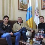 Entrevista al alcande de La Orotava, Don Francisco Linares
