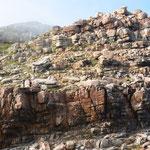 喜望峰の崖