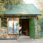 モシ・オア・トゥヤン国立公園のザンビア側の入口