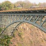 ヴィクトリアフォールズ橋 バンジージャンプの人にも注目