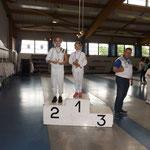 Ana 2ème à la coupe de Moselle 2016 épée poussine