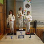 podium pupille épée Manom 1, emeline 2 camille 3 what else ?