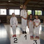 Ana Championne de Moselle épée Poussine 2016