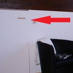 Die Tür zur Dachkammer ...