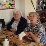 Mme Humblot Rénée et Mme Cousin Suzanne
