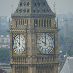 Big Ben, Blick von London Eye