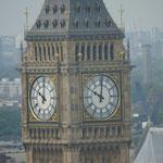 Big Ben, Blick von London Eye